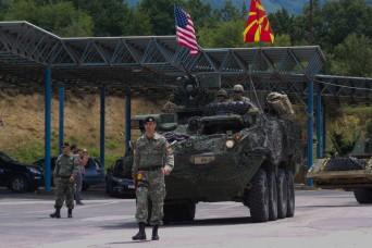 2CR builds bridges of friendship in Macedonia