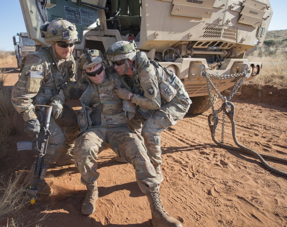 Complex Drill In Africa Challenges Preps Young Army Truck Drivers - Us-army-88m