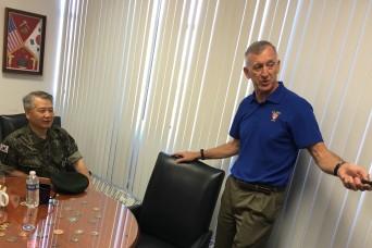 ROK army equipment testing chief gets taste of NIE 17.2