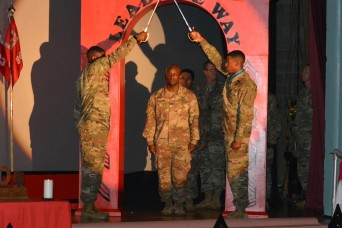 Engineers Celebrate Newly Promoted Noncommissioned Officers