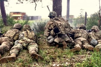 Soldiers orchestrate symphony of Chaos at live fire exercise