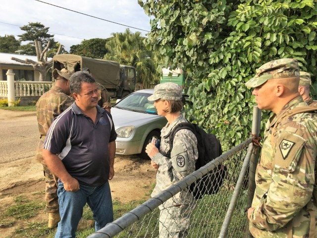 Army veterinarians team with Tonga to provide animal care on the islands