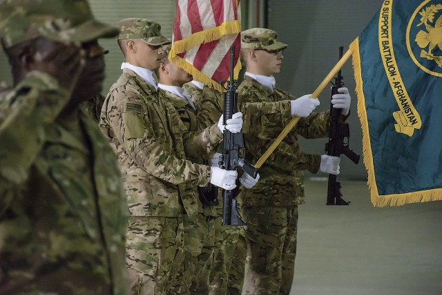 AFSBn-Afghanistan welcomes new commander