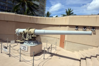 Ring of steel protected Oahu from invasion but not from attack by air