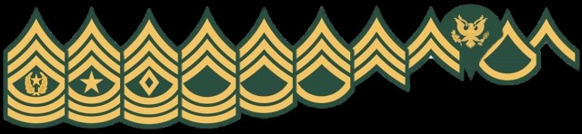 Stacking Enlisted Rank Insignia