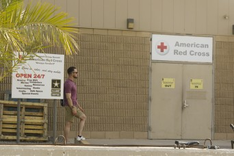 The American Red Cross giving Soldiers a stress free stay