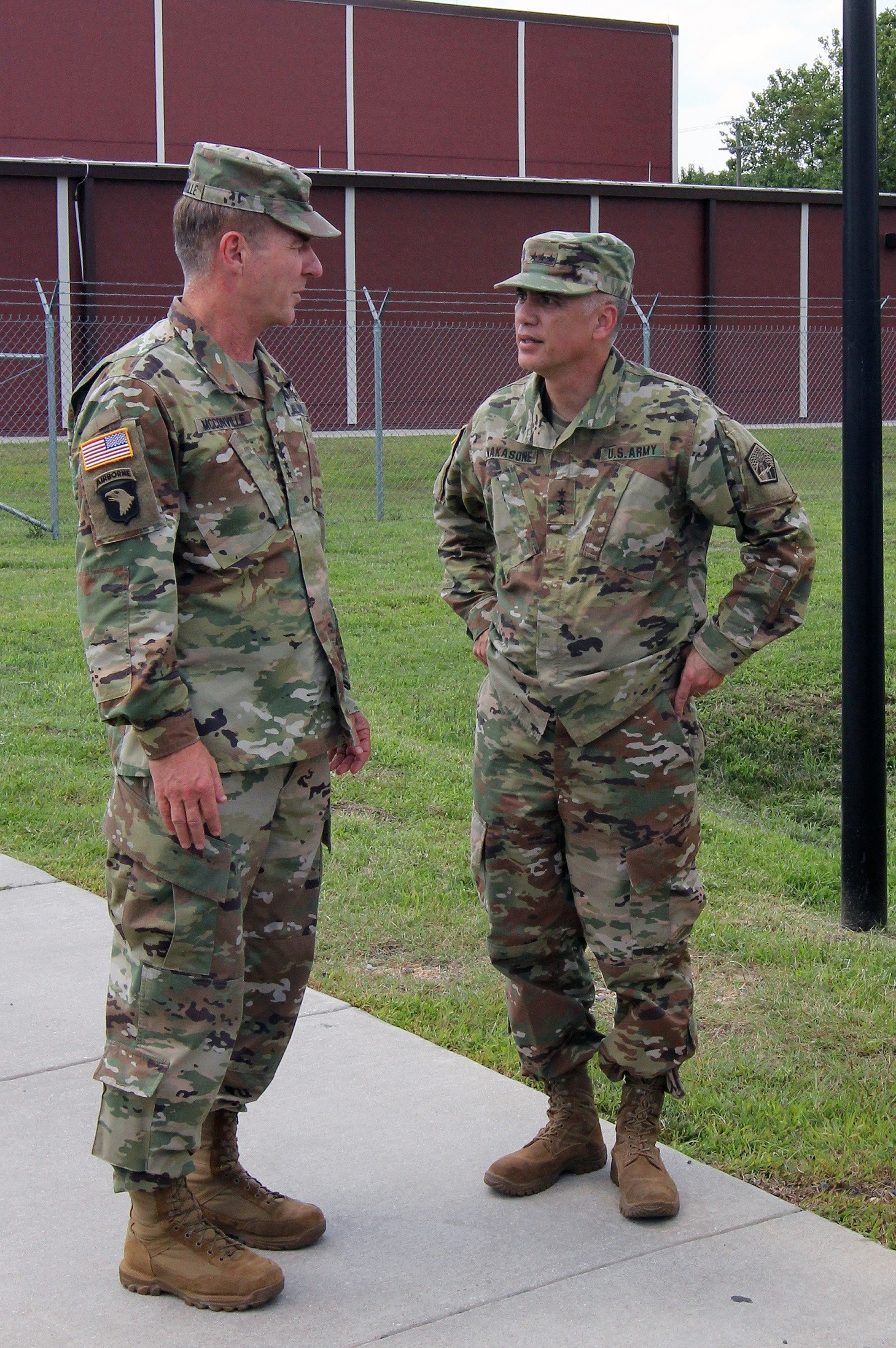 Vice Chief Of Staff U S Army Receive Arcyber Update Article The United States Army