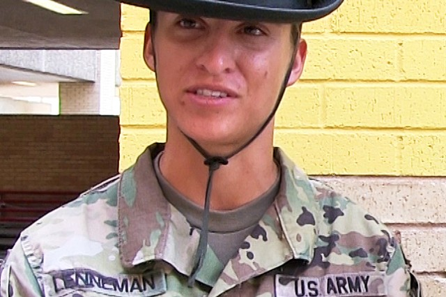 Drill Sergeant (Staff Sgt.)  Sarah Lenneman