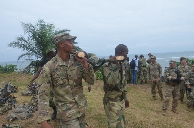 13th Expeditionary Sustainment Command Trains in Africa