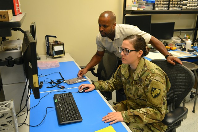 West Point Cadet Haley Duke, who is going into her fourth year at the U.S. Military Academy, begins her summer internship at U.S. Army Space and Missile Defense Command/Army Forces Strategic Command's Concept Analysis Laboratory. Duke is focusing on the effects of natural radiation in the space environment on standard components employed in small satellites being developed by USASMDC/ARSTRAT's Space and Strategic Systems Directorate.