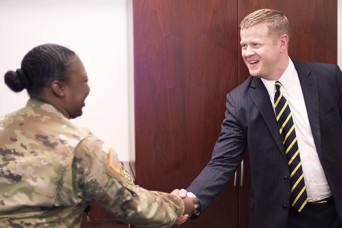 Secretary of the Army discusses readiness, force development during TRADOC visit