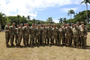 RHC-P Soldiers compete for the honor to wear the GAFPB badge