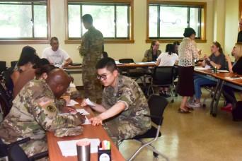 KATUSAs share their talent at Korean language classes