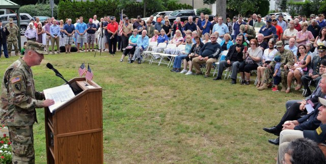 100 years of the Rainbow Division marked in August 12 ceremony on Long Island