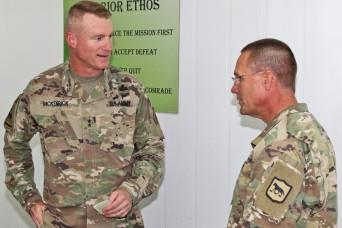 Senior leaders visit deployed troops