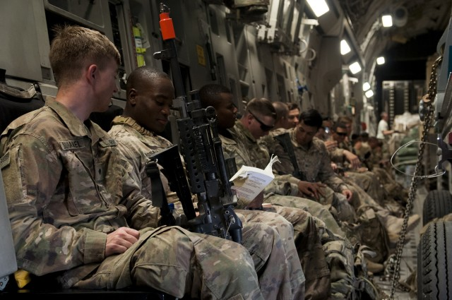 Greywolf Soldiers conduct rapid deployment exercise