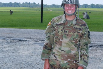 Army's first fourth-generation paratrooper follows in families' footsteps