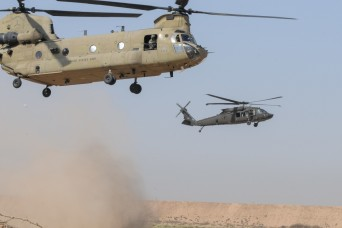 Task Force Rough Riders completes joint aviation training with Iraqi Security Forces
