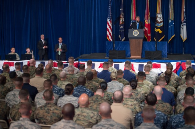 President Trump unveils new Afghanistan, South Asia strategy