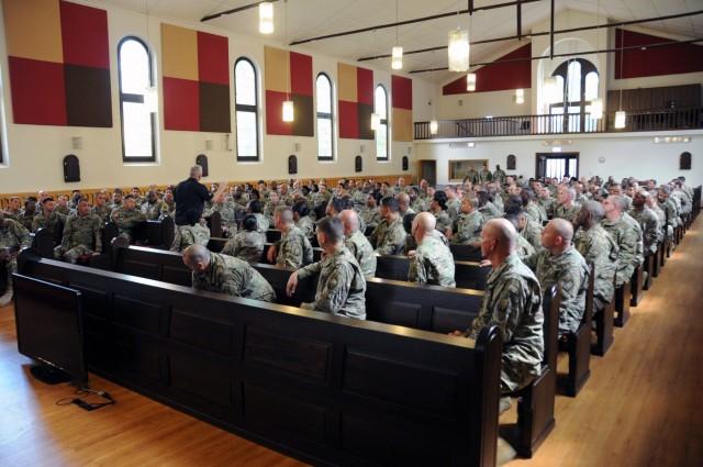 Retired senior enlisted leadership develops 21st NCOs
