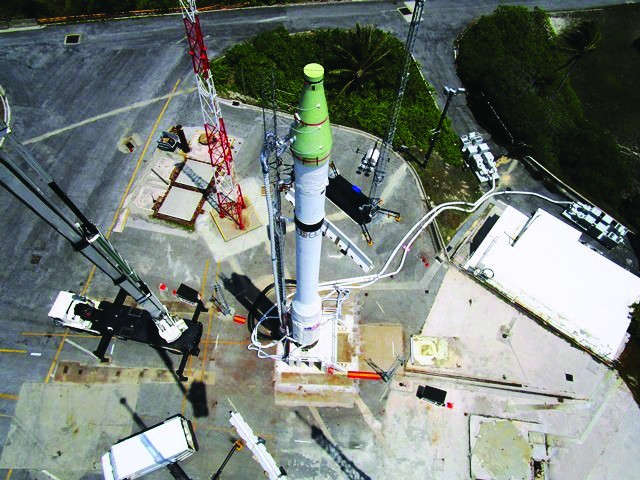 Multi-year mission culminates in historic target missile launch