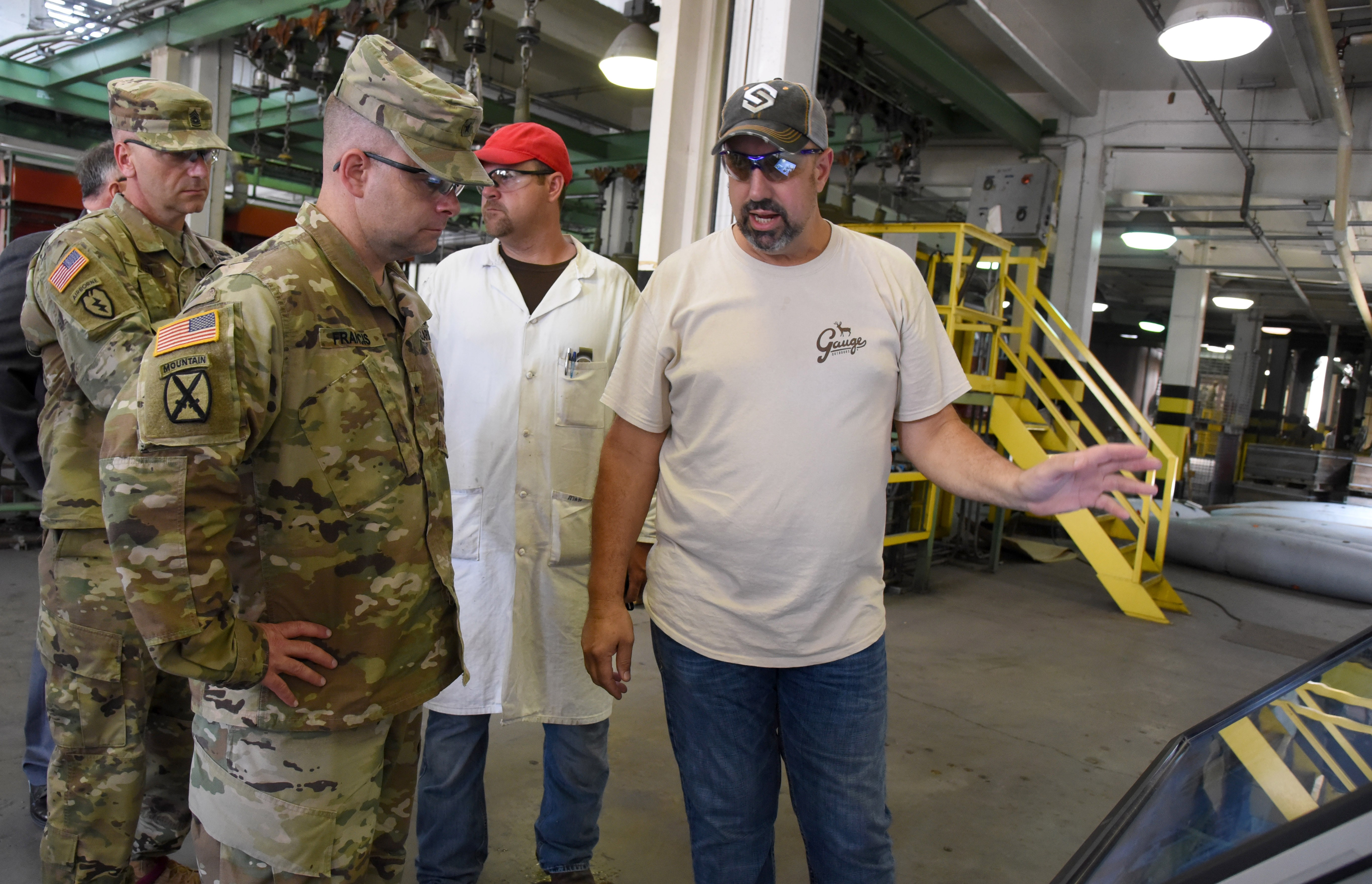Francis' primary purpose for the visit to MCAAP was to learn about how the USACRC can partner with the U.S. Army Technical Center for Explosives Safety to ...