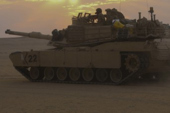 Cavalry Soldiers sustain readiness with maneuver training in Kuwait