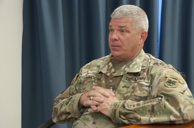 Moore reflects on USARAF, AREC experiences, accomplishments