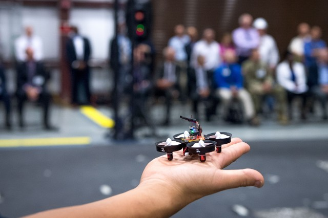 After nearly 10 years of collaborative research from the Army, industry and academia, the Micro Autonomous Systems and Technology, or MAST, concludes during a three-day capstone event of presentations and demonstrations of both ground and air micro-robots Aug. 22-24 at Aberdeen Proving Ground, Maryland.