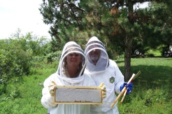 Beekeeping agribusiness helps cultivate a future for wounded ill and injured Soldiers