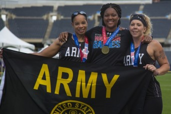 Army athletes celebrate impressive performance at the 2017 Warrior Games