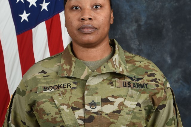 Staff Sgt. Phoebe Booker, Equal Opportunity NCO, U.S. Army Operational Test Command, Fort Hood, Texas.