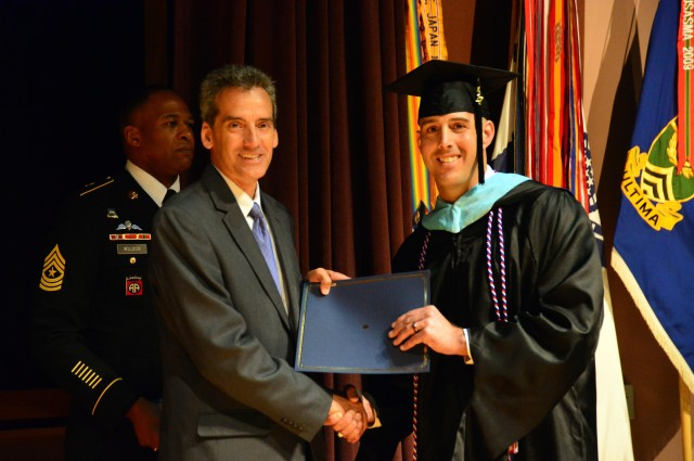 Receiving a Master's