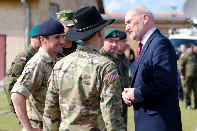 NATO Secretary General visits Battle Group Poland