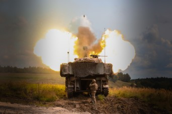 3-29 FA shoots, scoots in rare artillery raid at Combined Resolve IX