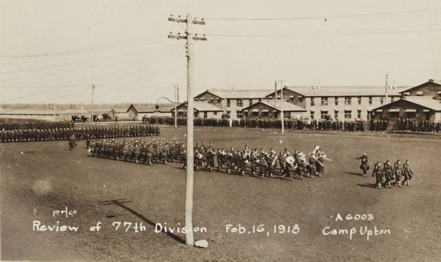 Parade at Camp Upton