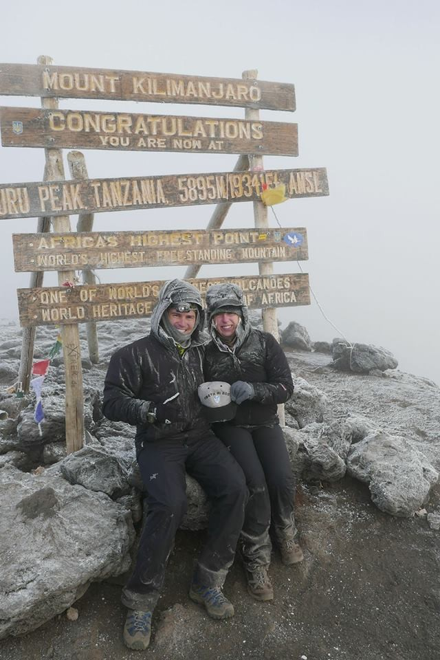 Summiting the peak
