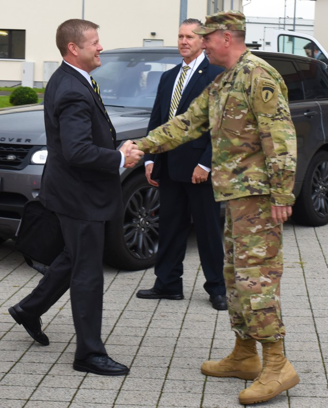Acting Secretary of the Army visits U.S. Army Europe