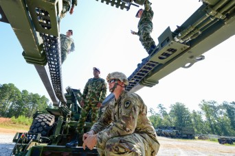 South Carolina National Guard engineers bridge partnership with Colombian army