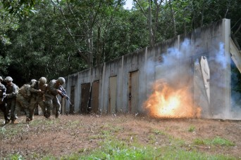 Combat engineers, Marines make a bang with shotguns, demos