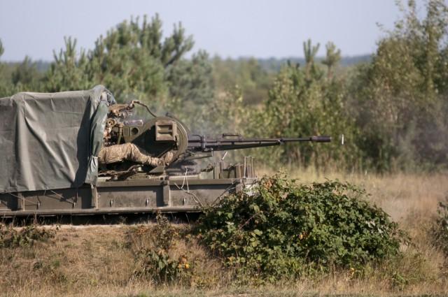 Ukraine trains to dominate the sky
