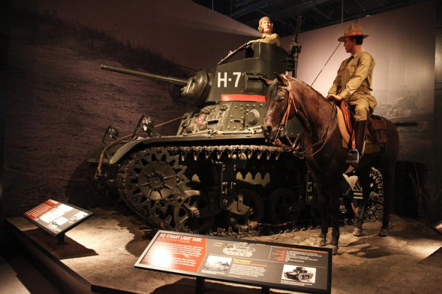 A display at the National Infantry Museum, just outside of Fort Benning in Columbus, Ga.