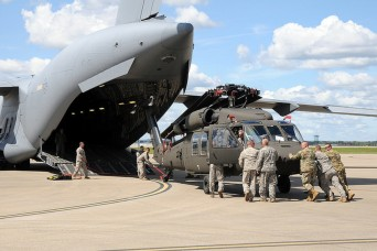 Kentucky Guardsmen deploy for Hurricane Irma response operations
