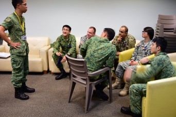 Strengthening U.S. and Singapore partnership during Tiger Balm 2017