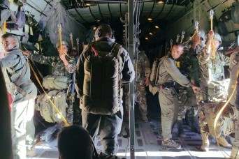 Vanguard Battalion demonstrates airborne capabilities in Africa and Europe
