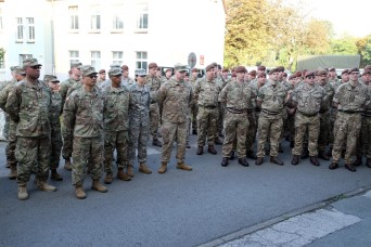 Michigan National Guard arrives in Germany to conduct Joint Training with British Armor Unit