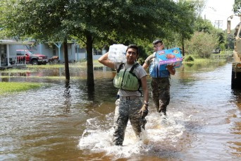 Texas Soldiers break language barriers to help victims of Hurricane Harvey