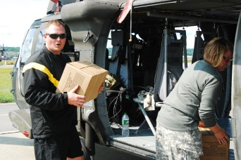 New York Army Guard sends helicopters to Florida to assist in Hurricane Irma response