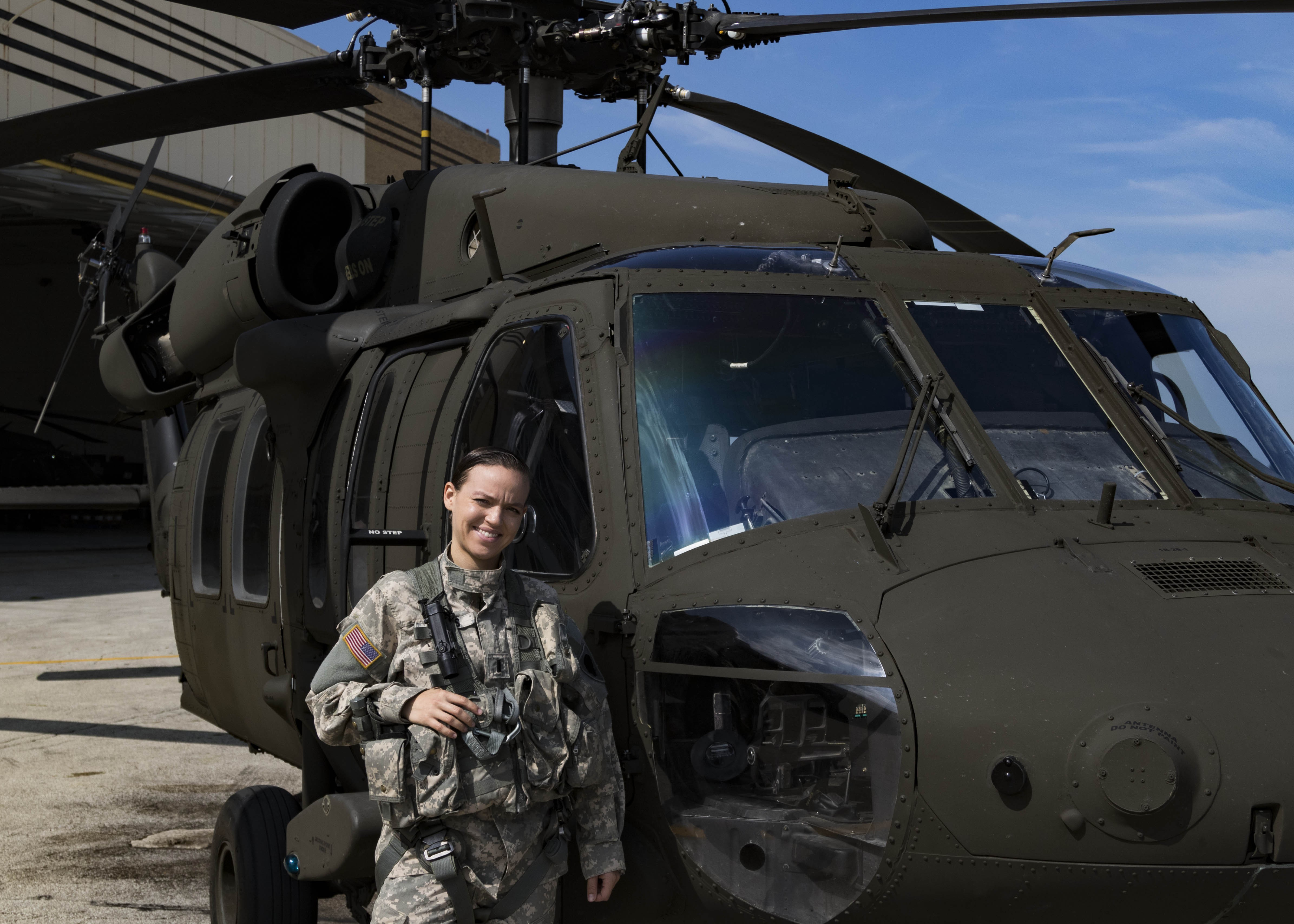 Latina helicopter pilot flying high in Army National Guard