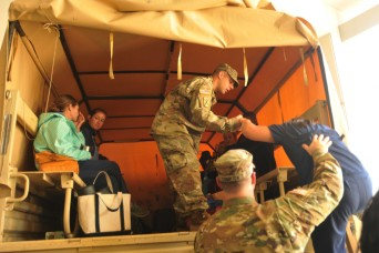 South Carolina Army National Guard conducts high-water rescues after Irma